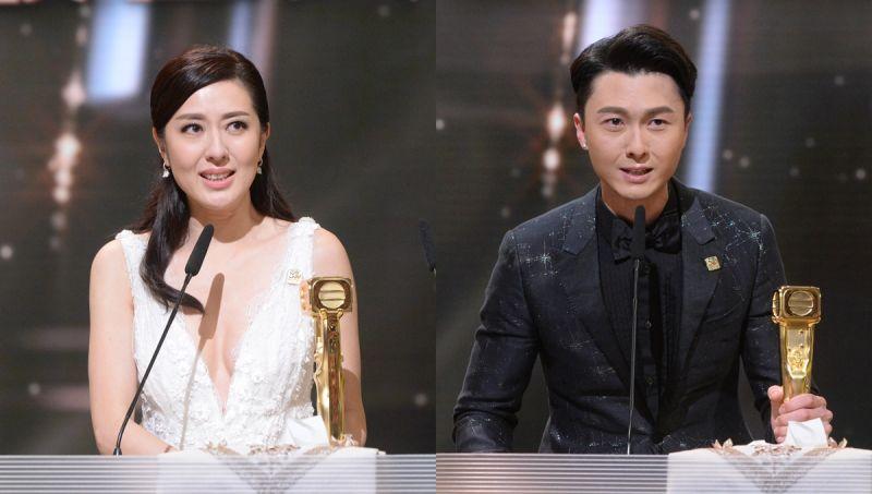 「最佳男主角」:王浩信与「最佳女主角」:唐诗咏