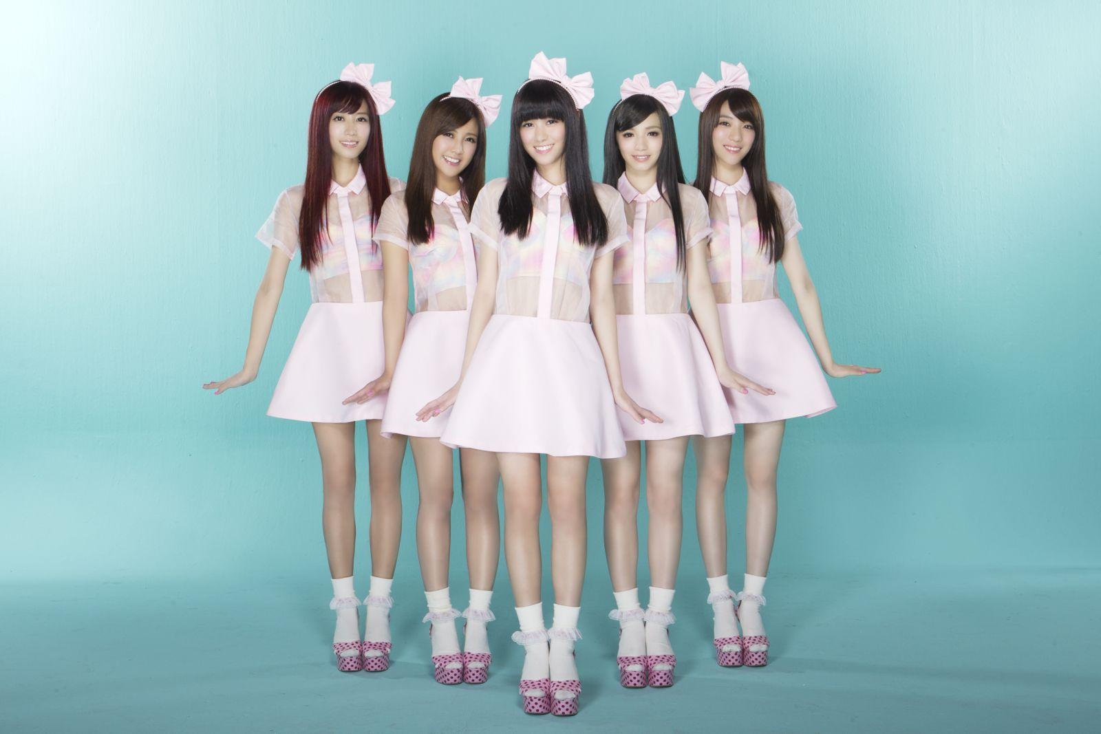 PlayMusic音乐网 华研5正妹Popu Lady出击 写真 EP抢攻宝岛美少女版图